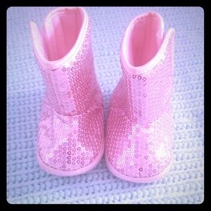 3 pairs of Baby girl shoes